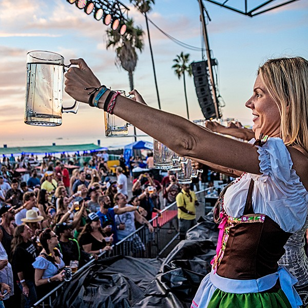 O.B. has the only Oktoberfest party at the beach