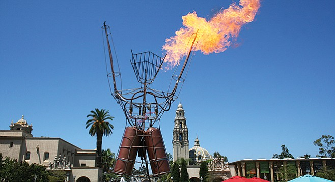 Saturday, October 7: Artists, creators, engineers, do-it-yourselfers, and robots come together for Maker Faire San Diego