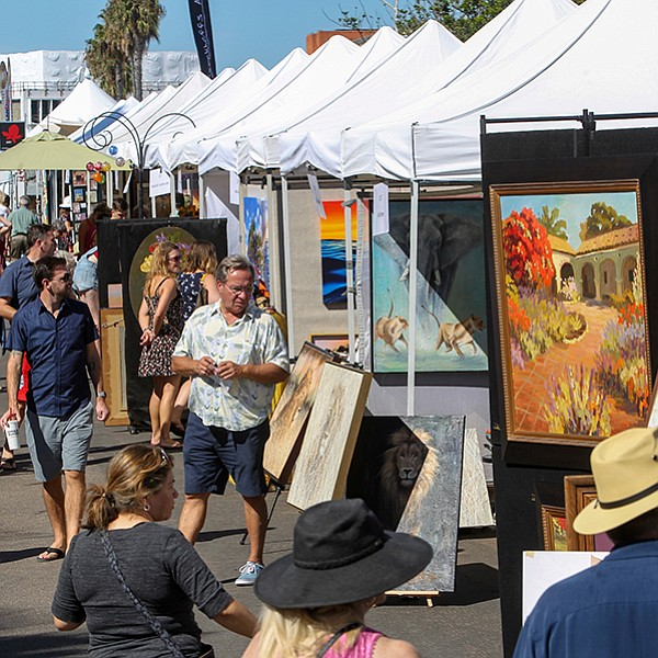 Wash down all that art with few glasses of wine in La Jolla