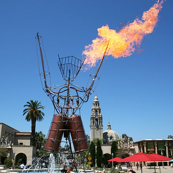 Hundreds of makers at six museums, two outdoor venues, and one theater in Balboa Park