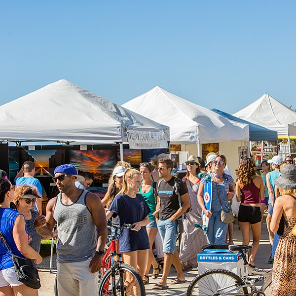 Volleyball, surfing, a 5K, music, art, and a taco challenge at Pacific Beachfest