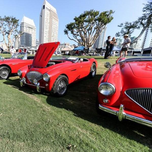 A celebration of British cars at Spanish Landing Park