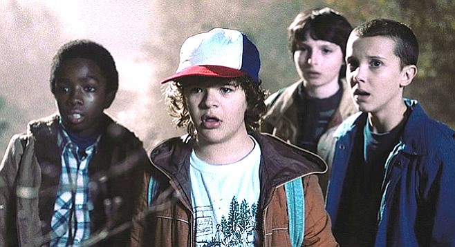 Stranger Things harkens back to Goonies.