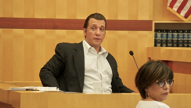 David Strouth testified in his own defense.