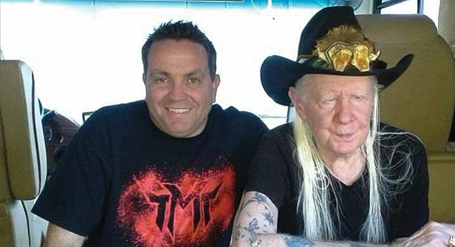 Joe Troutman and Johnny Winters