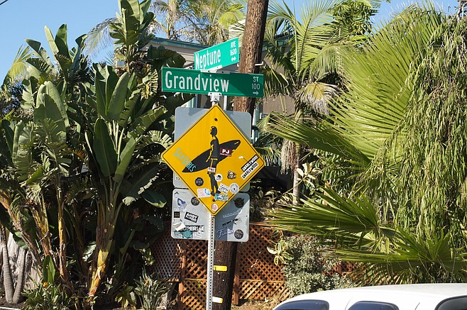 The assault was near the intersection of Neptune and Grandview in Encinitas.
