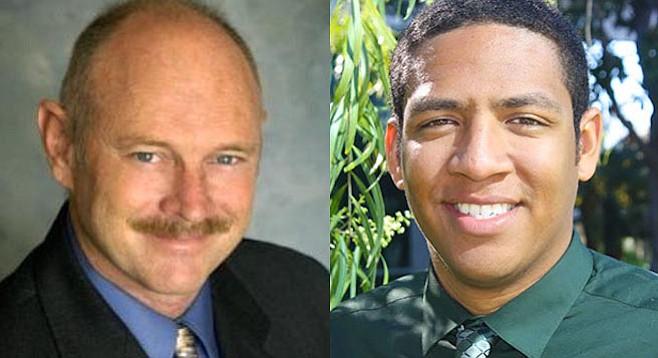 Jerry Jones and Marcus Bush