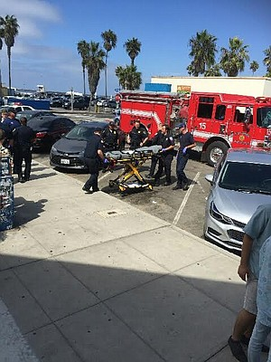 """One girl was passed out and couldn't even get on the stretcher when the paramedics came."""