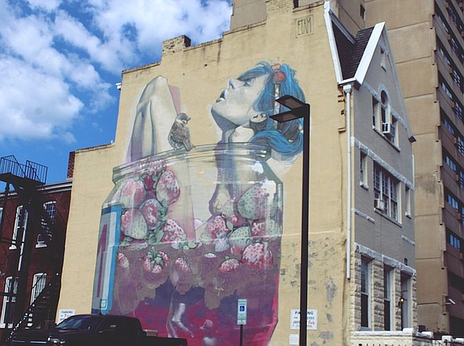 Mural in Richmond.
