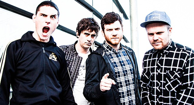 Enter Shikari just dropped their fifth album, and they are performing at SOMA