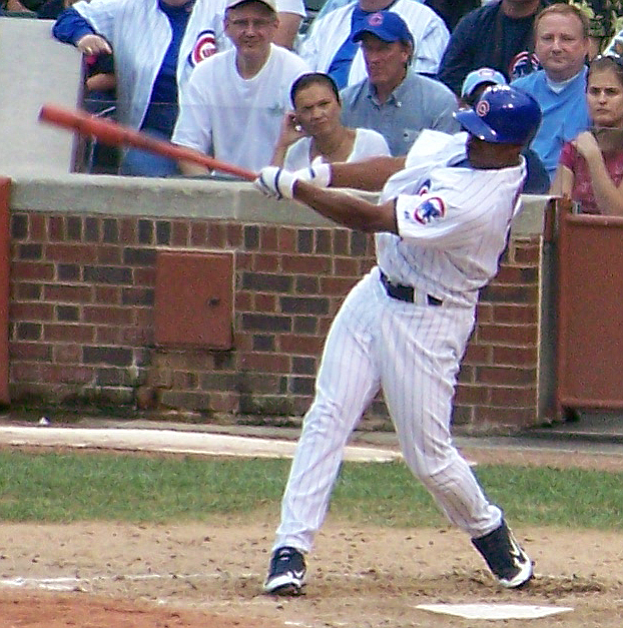 Jacque Jones, when he played for the Cubs