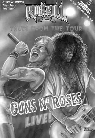 Guns 'N Roses comic book