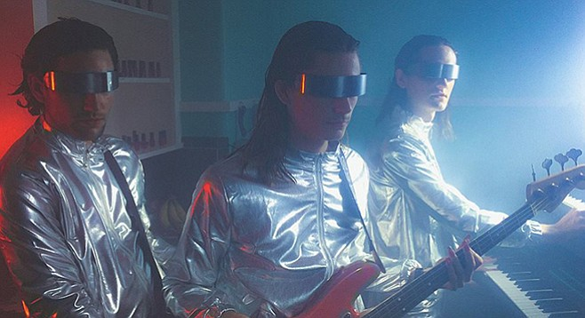 Space-pop rockers Sports touch down at the Soda Bar
