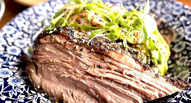 There's some smoke to the brisket, but not so much to bury the beef,