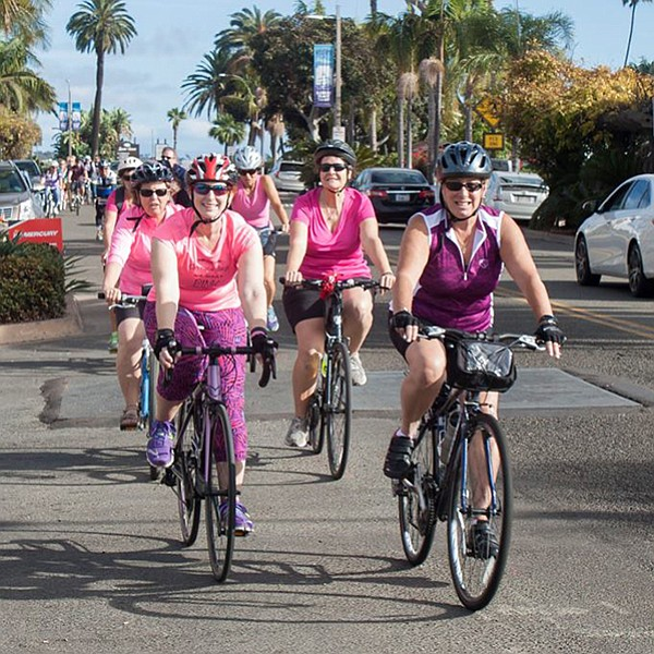 Dress in pink and take a ride for a good cause