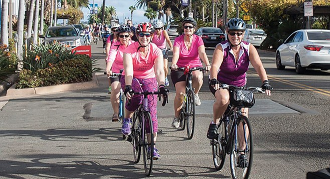 Sunday, October 15: Bike for Boobs