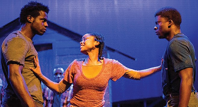 Father Comes Home From the Wars, Parts — if anything, the three plays contradict the Odyssey.