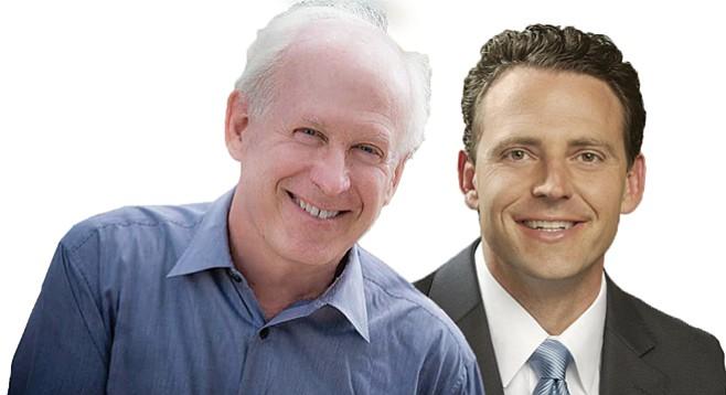 UCSD dean Jeff Elman sought to raise cash for Nathan Fletcher post.