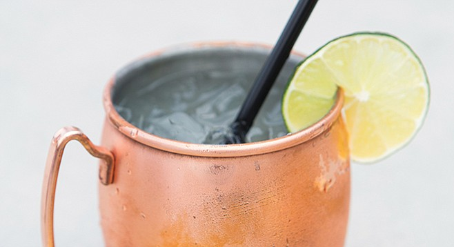 Simmons says the Mexican Mule gets its legs from the infusion.