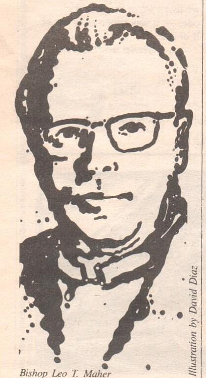Bishop Leo T. Maher