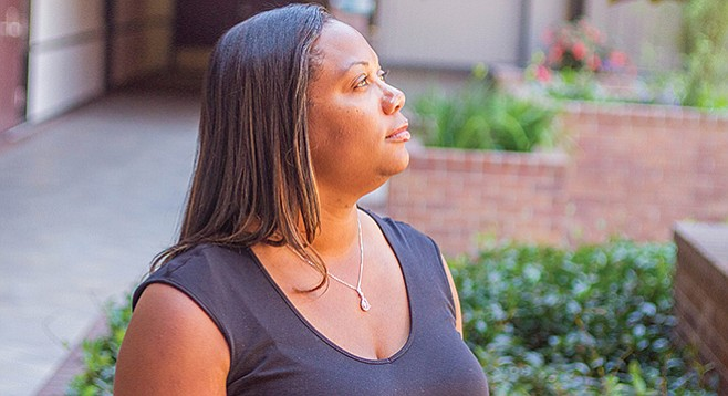Terri Winbush quit fighting Willmark and says it affected her credit.