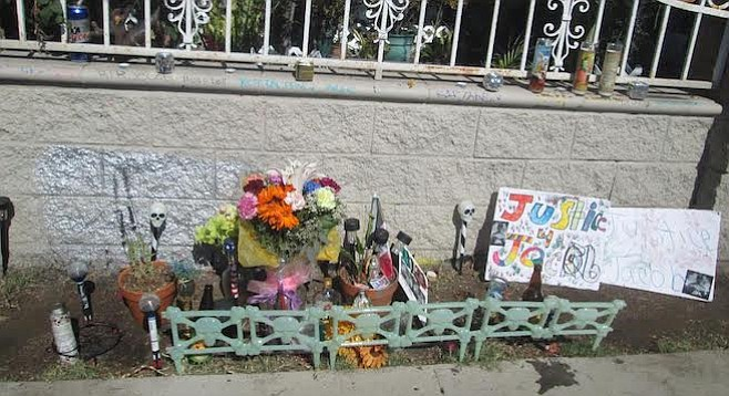 Memorial for Jacob Velasquez