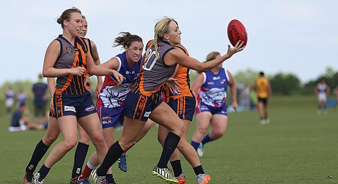 Saturday, October 21: U.S. Australian Football National Championships