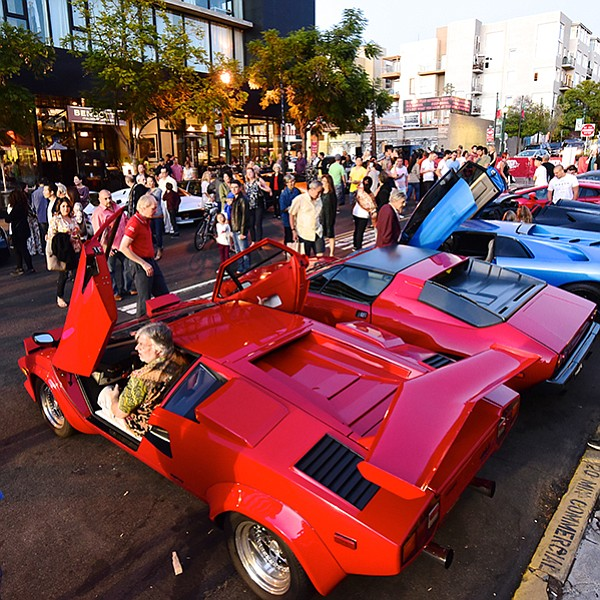 Souped-up rides and musical entertainment in Little Italy