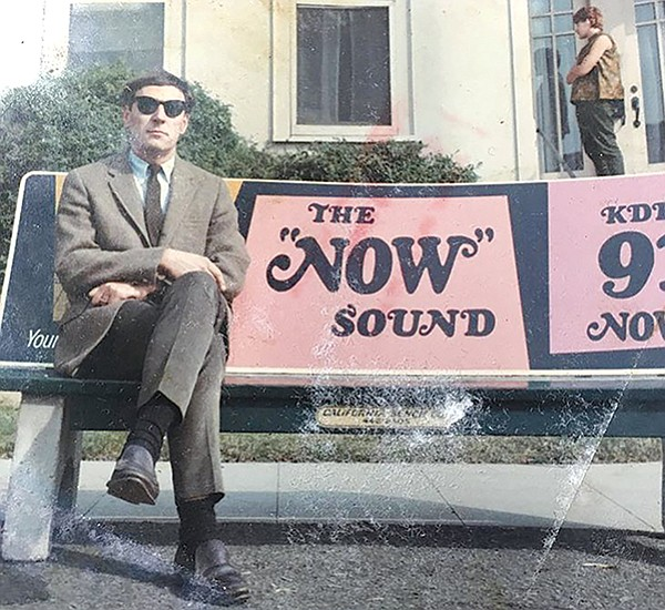 "One of Daniel L.'s 1960s gigs involved creating logos like ""The Now Sound"" designs for local top 40 rock station KDEO."