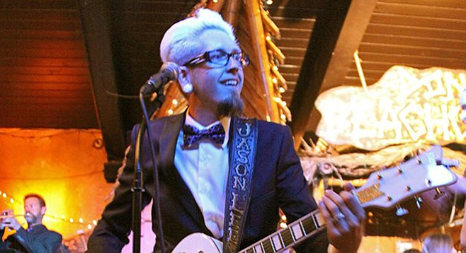 """Jason Lee says he """"always envisioned a '60s spy-sound orchestra with go-go girls."""""""