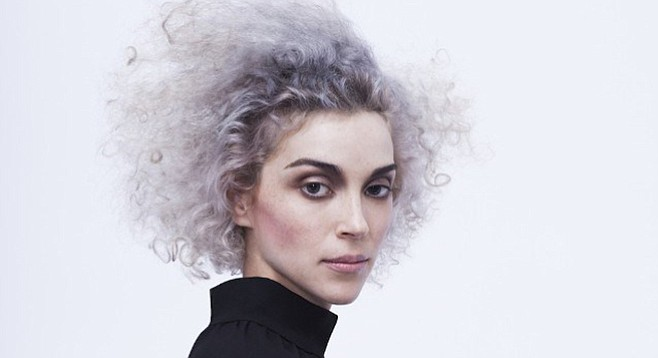 St. Vincent is 35, but she's still a pop star