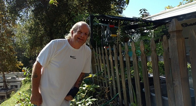 Mike Dolbow grows vegetables to feed friends and fellow residents of his RV park, he's looking to expand the operation.
