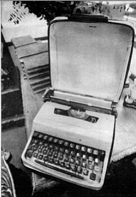 Schuyler's typewriter. The papers, the Smith Corona, and other pieces of Schuyler memorabilia joined the papers of other poets housed in the Mandeville Special Collections Library.