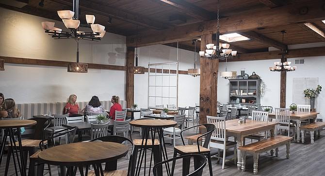 A Breezy Dining Room For Farmtotable Californiacasual Cuisine - Farm to table san diego