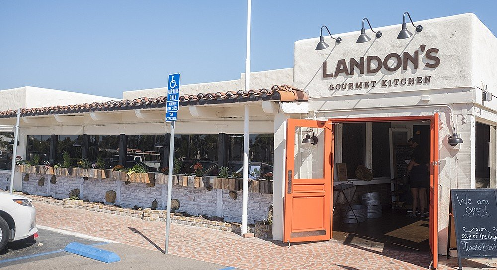 A new restaurant in the Old California Restaurant Row
