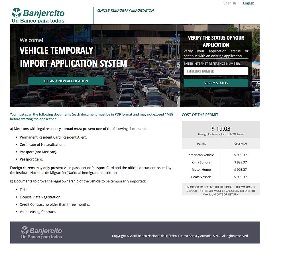 New Baja RV Permit « EXPAT in BAJA Mexico