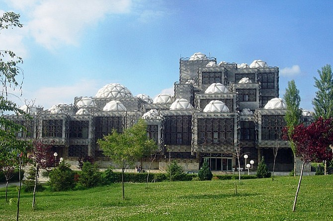 Pristina's National Library could make the list of world's ugliest buildings.