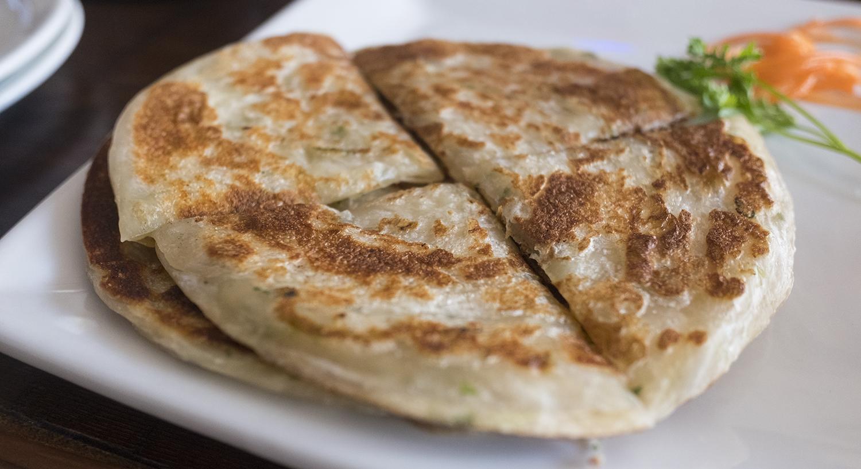 Simple yet satisfying scallion pancakes