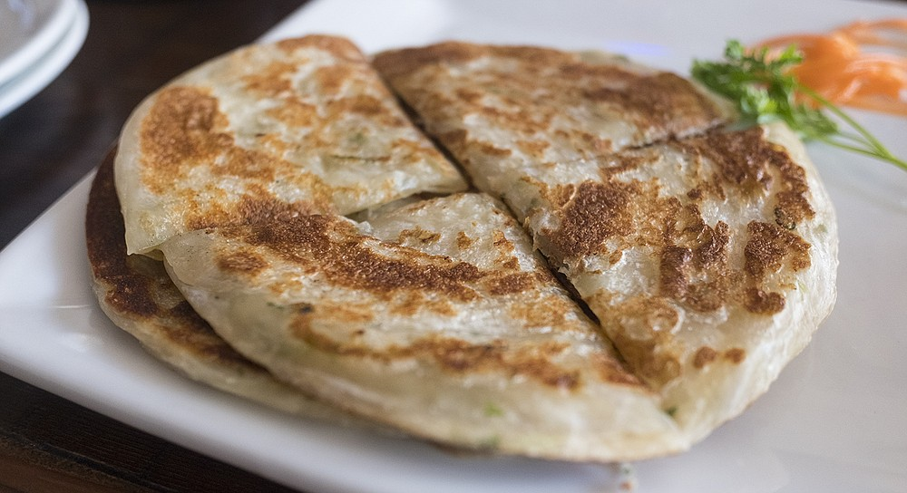 Simple yet satisfying scallion pancakes