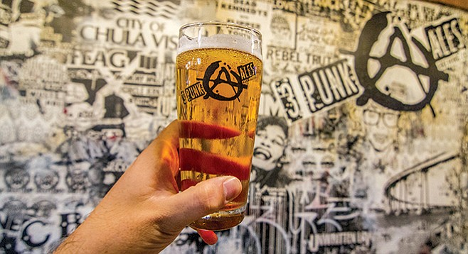Thr3e Punk Ales came home to roost in Chula's Third Avenue Village.