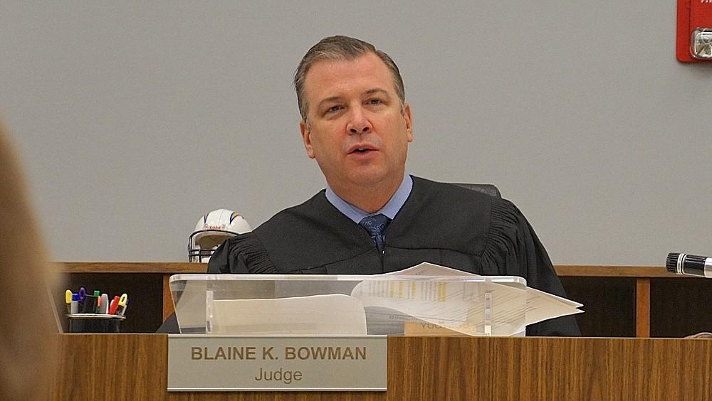 Judge Blaine Bowman