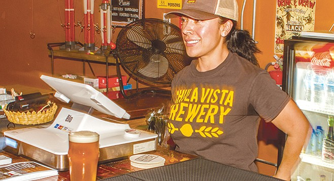 Dali Parker at Chula Vista Brewery helped launch Third Avenue beer scene.