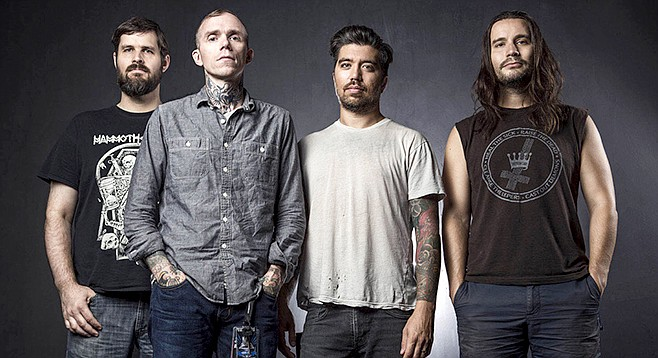 Converge, cruising the world on Pitchfork fumes