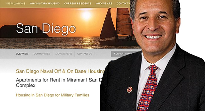 Juan Vargas got a good chunk of change from the controversial founder of Lincoln Military Housing.
