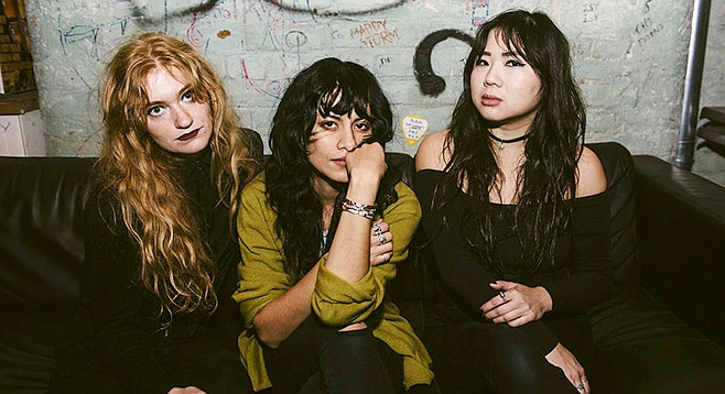 L.A. Witch, just riotous West Coast girls