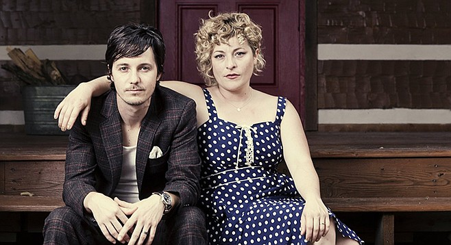 Husband-and-wife folk duo Shovels & Rope at the Belly Up