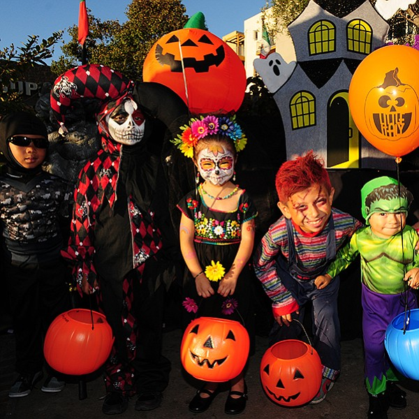 Little Italy businesses will pass out candy for the downtown-area youngsters