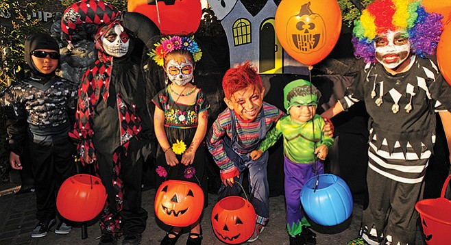 Friday, October 27: Trick-or-Treat on India Street