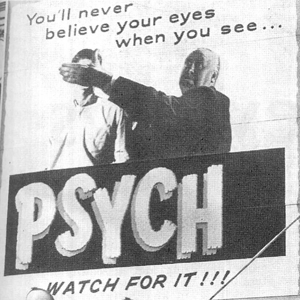 """Hitchcock told an interviewer: """"I once made a movie, rather tongue-in-cheek, called Psycho...I was horrified to find some people took it seriously."""""""