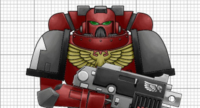"""The official Wiki entry for """"Space Marines"""" has 48,000 words on it."""